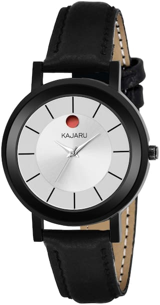 KAJARU L-8005 WHITE MOVADO DIAL ATTRACTIVE WATCHES - FOR WOMEN AND GIRLS