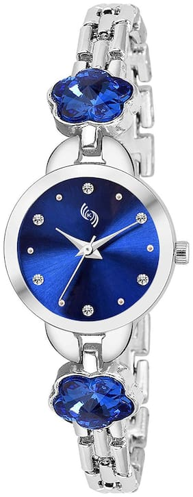 KAJARU L-BANGLE-921 BLUE DIAL BENGAL WATCH FOR WOMEN AND GIRLS