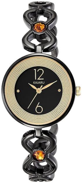 KAJARU LADIES-759 BLACK ANALOG WATCH FOR WOMEN Watch - For Girls