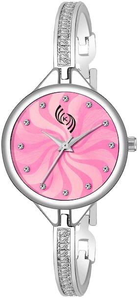 KAJARU LADIES-932 PINK DIAL DESIGN FANCY AND ATTRACTIVE WATCH FOR WOMEN Watch - For Women