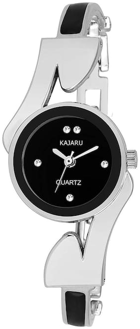 Kajaru Ladies-804 BlLACK Dial BRACELET WRIST WATCH FOR GIRLS
