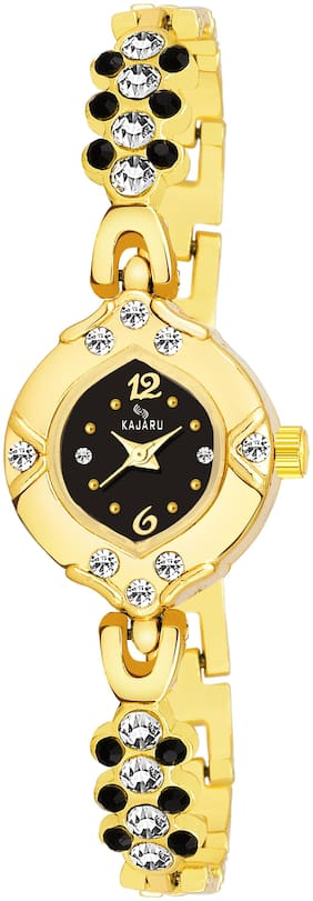 Kajaru Ladies-962 Black Dial Trendy New Arrival Watch Analog Watch For Women And Girls