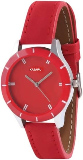 Kajaru Ledis-18 Attractive And Beautiful Simple Strap Analog watch for Women And Girls