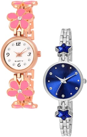 KAJARU Stainless Steel Quartz Women