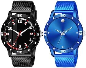 Men Blue;Black Analog Watch
