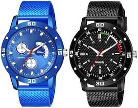 Men Black;Blue Analog Watch