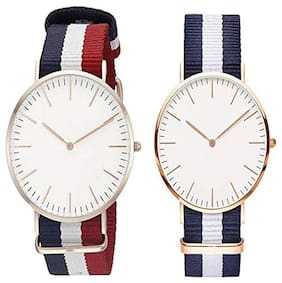 KIARVI GALLERY New Professional Designer watches Como With Canvas Strap