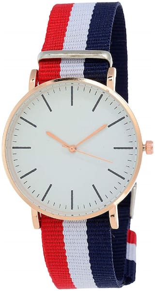 KIARVI GALLERY White  Dial Classic Analog Watch for Girl and Women
