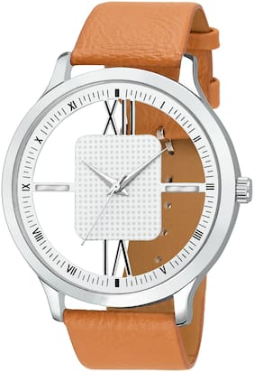 KIARVI GALLERY  Open Transference  White Dial Watch Fro Men