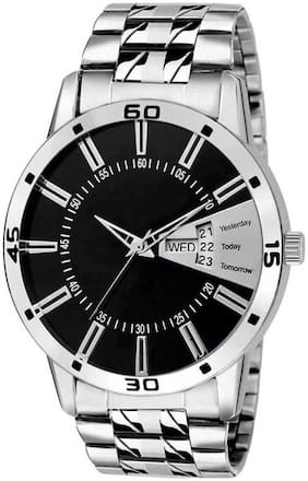 KIARVI GALLERY  Latest Dream Collection-3031's Royal Day & Date Watch With Metal Strap