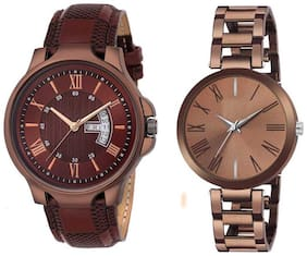 Brown Couple Watch