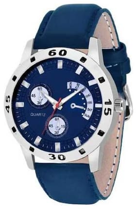 KIARVI GALLERY  Blue Dial CHRONOGRAPH Pattern  Watch - For Men