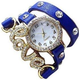 KIARVI GALLERY NEW Stylish Blue Love  Dori Watch