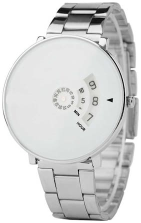 KIARVI GALLERY New German Designed Professional White Dial  Watch For Men