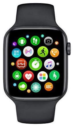 Kirru W26 Infinite Screen - 44mm Watch Series 6 Smart Watch Bluetooth Call ECG Temperature Smart Watch