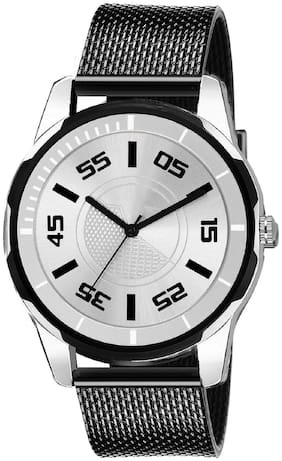Krishtal Trading Silver Dial Stylish Designer Festive wrist Analog watch for boys