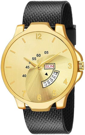 Krishtal Trading Analog Day & Date Watch For Men