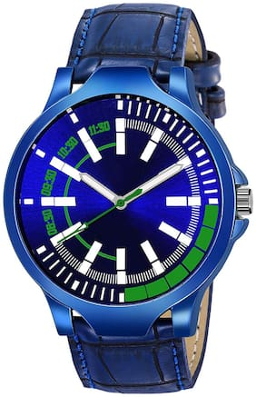 Krishtal Trading Blue Dial Stylish Designer Festive wrist Analog watch for boys