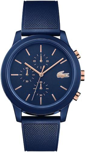 Lacoste L.12.12 Chronograph Blue Colour Round Dial Men's Watch - 2011013