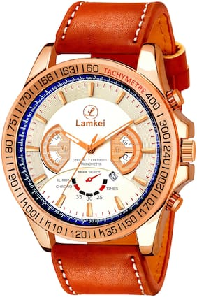 Lamkei Analog Watch Round  Shape For Men