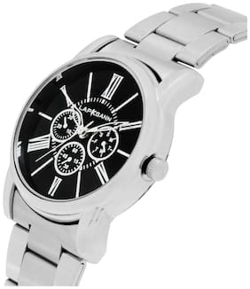 Lapkgann Couture Silver Stainless Steel Women Analog Watches