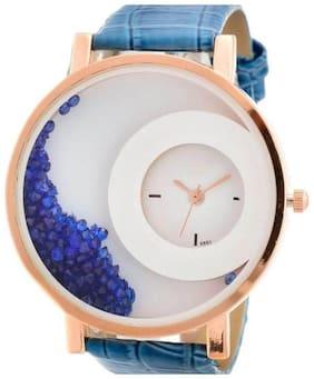 Lecozt Blue Beads analog watch