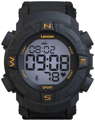 Lenovo Ego Smartwatch HX07 (Black Strap Regular)