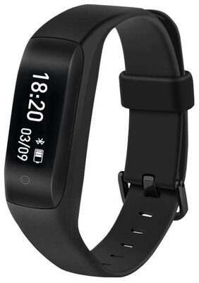 Lenovo HW01 Plus Smart Band with PAI & Heart Rate Monitor (Black)