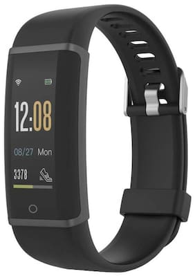 Lenovo HX03F Spectra Smart Fitness Band with Heart Rate Monitor (Black)