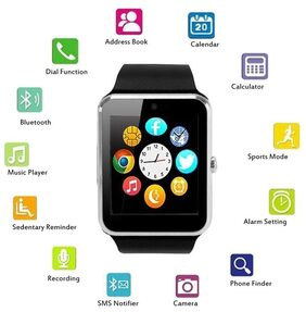 Life Like GT08 BLUETOOTH SMARTWATCH WITH SIM & SD CARD SUPPORT