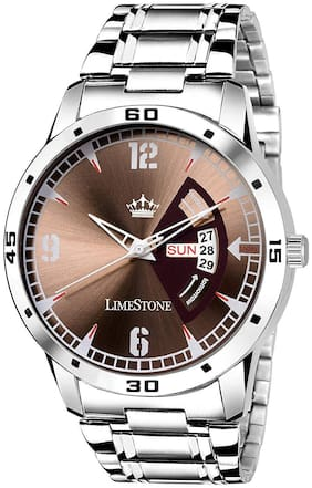 LimeStone Casual Avengers Day and Date Display Analog Watch fro Men/Boys