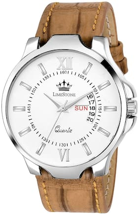LimeStone Casual Avatar Day and Date Display Analog Watch fro Men/Boys