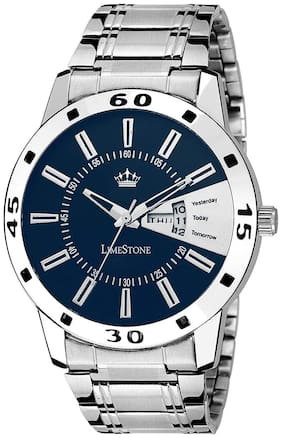 LimeStone Day and Date Display Analog Watch for Men/Boys