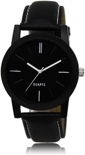 Locate LCT-05 Full Black Plain Formal Look Analog Watch