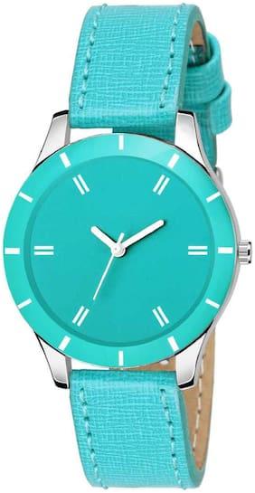 Locate New Design Premium Look Blue Girls And Women Analog Watch
