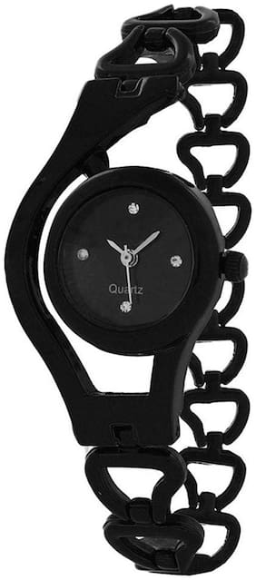 Locate New Design Chain Desigen Black Chain Analog Watch