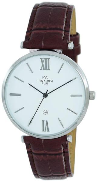 Maxima 54700LAGI Men White - Analog Watch