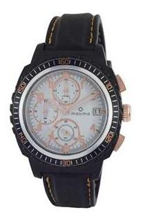 Maxima Hybrid Collection 37451Ppgn Men Chronograph Watch