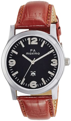 Maxima Men Analog Watch-O-44689LMGI