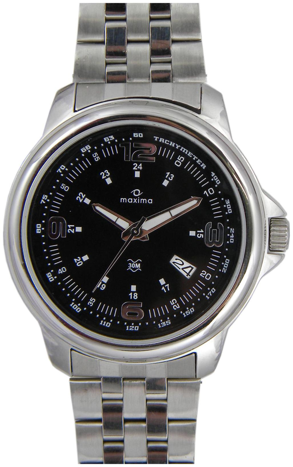 Maxima Attivo Collection 24111Cmgi Men Analog Watch by P A Time Factory