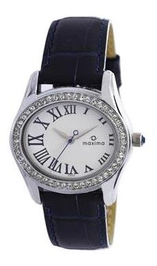 Maxima Swarovski Collection 29554Lmli Women Analog Watch