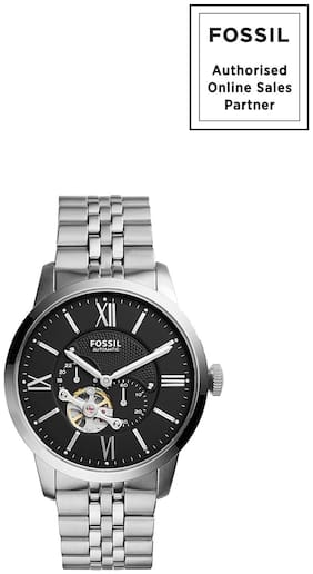 New Fossil Men Automatic Chronograph Townsman Stainless Steel - ME3107