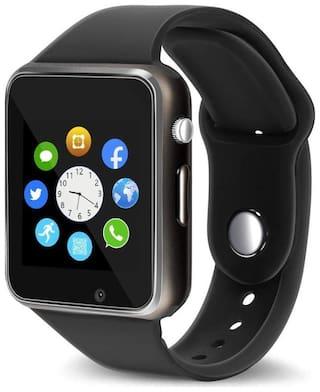 MECKWELL A.1 Unisex 22 mm Black Smart Watch