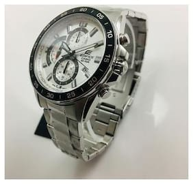 Men's Casio Edifice Chronograph Steel Watch EFV550D-7AV EFV-550D-7A