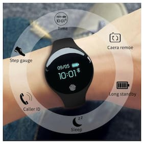Men Women Smart Digital Watch Intelligent Pedometer Fitness Bracelet OLED Touch