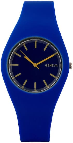 Silicon Analog Watch - Blue