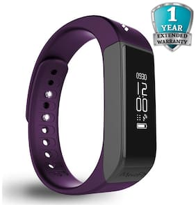MEVOFIT Drive - Best Fitness Tracker Watch for Women | Smart Activity Tracker & Fitness Band | Large Wireless Waterproof Fitness Tracker Monitor (PURPLE)