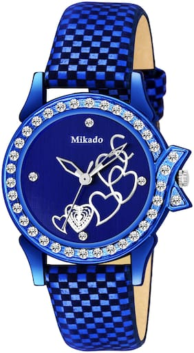 Mikado Pansy Queen Style Watch For Women And Girls Analog Watch For Women