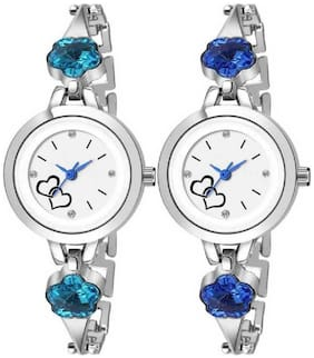 Miss Perfect NEW Design FLOWER Stylish Analog WATCH for Womens - &-Girls (COMBO 2) Analog Watch