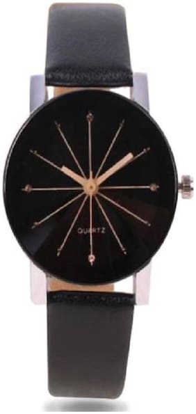 Miss Perfect Women RE-W-0036 Prizam Glass Black Dail For Girls Watch - For Girls